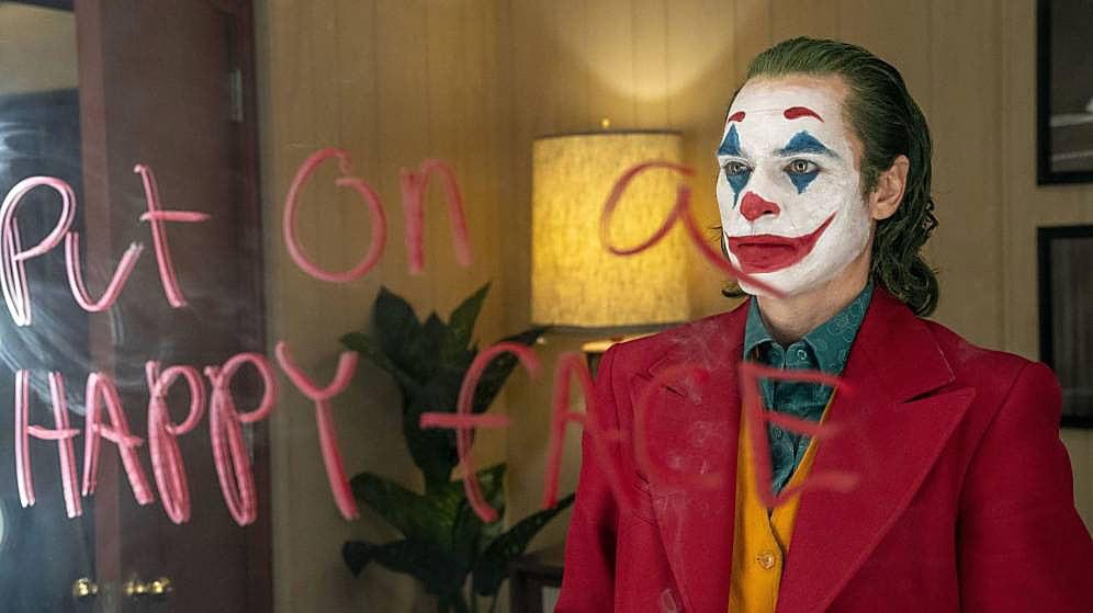 Joaquin Phoenix com a Joker. @Warner Bros.