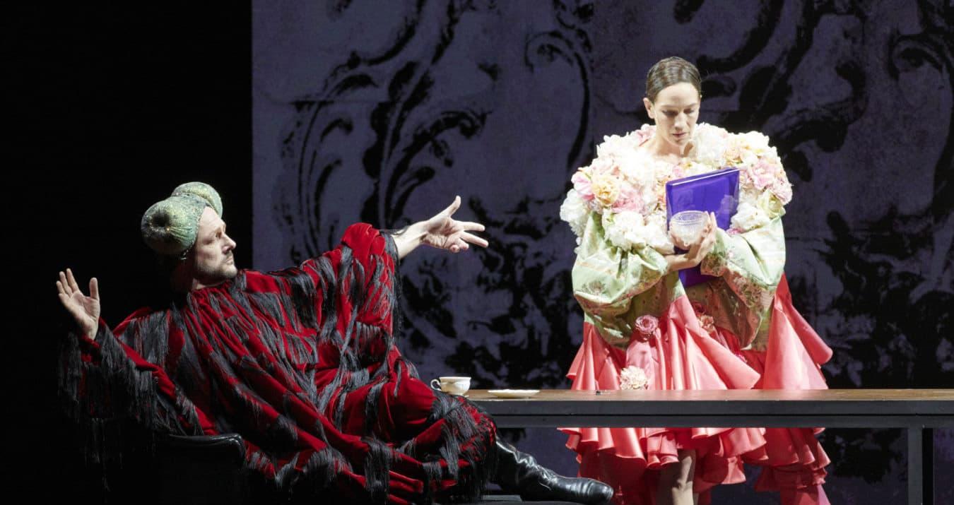 Corinne Winters i Tomasz Konieczny en una escena d'Halka al Theater an der Wien. Fotografia de Monika Rittershaus