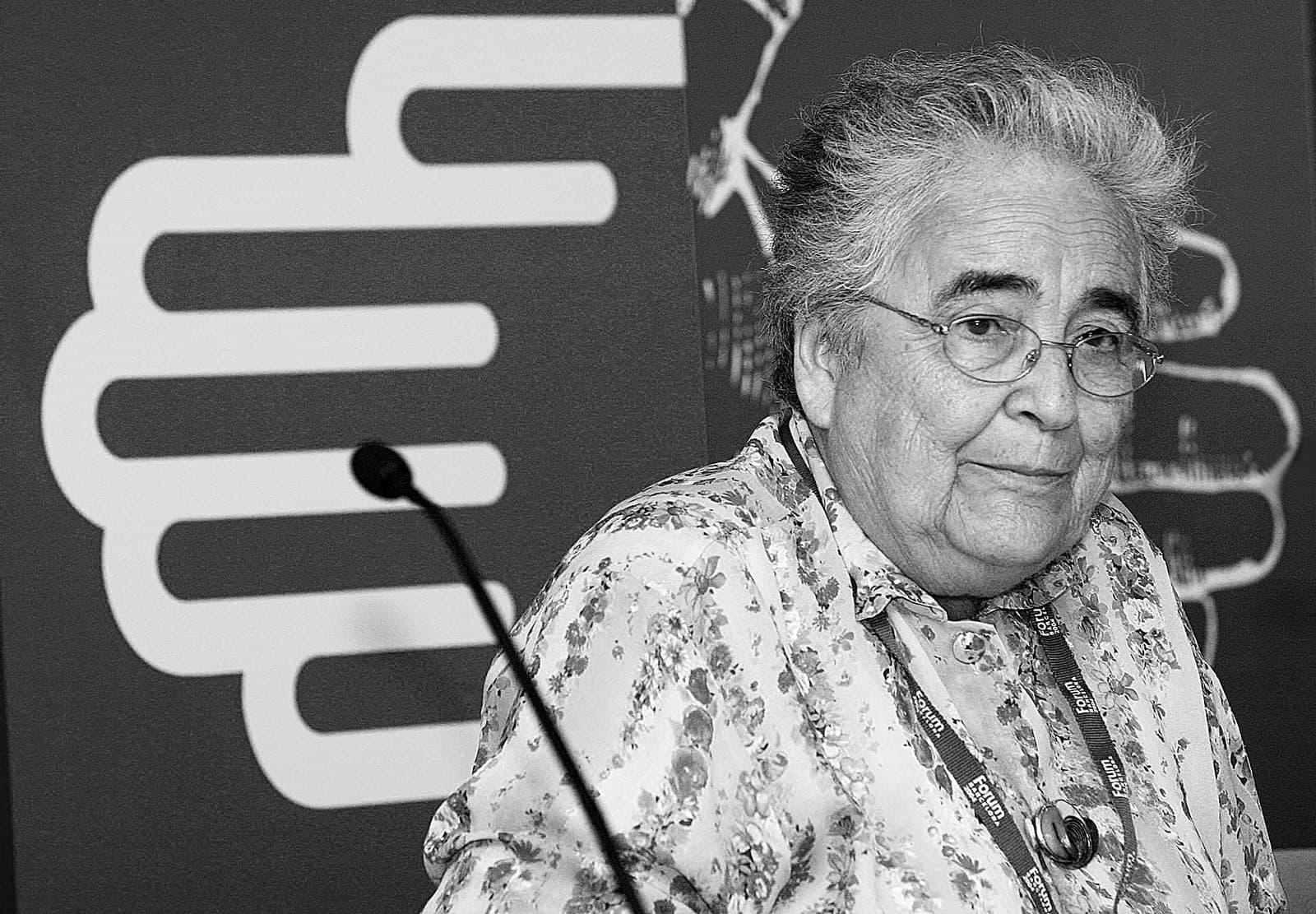 Marta Mata, el 2004, durant el Fòrum de les Cultures Foto Arduino Vannucchi Efe