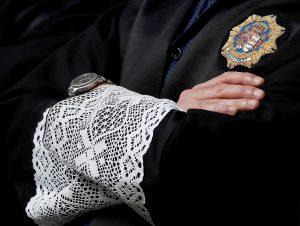 Un jutge amb toga. Fotografia de Javier Etxezarreta. Efe