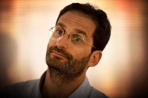 Federico Finchelstein a la llibreria Bernat aquest juliol. Fotografia de Xavier Jubierre