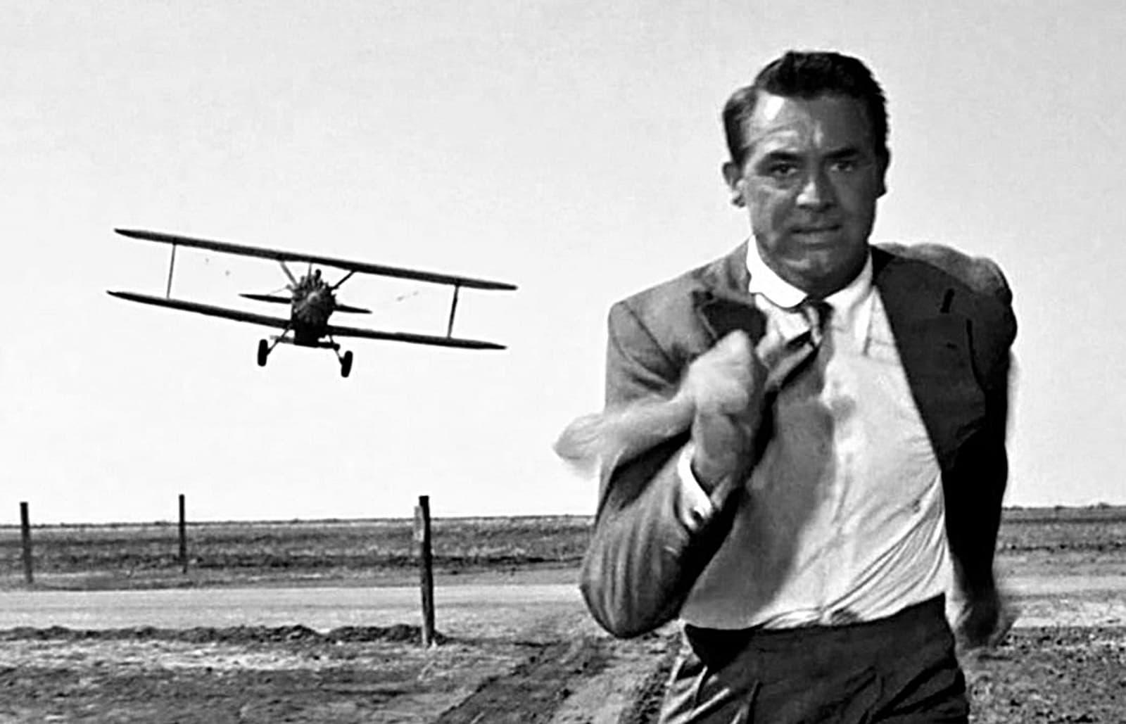 Fotograma de la pel·lícula Con la muerte en los Talones. 1959.