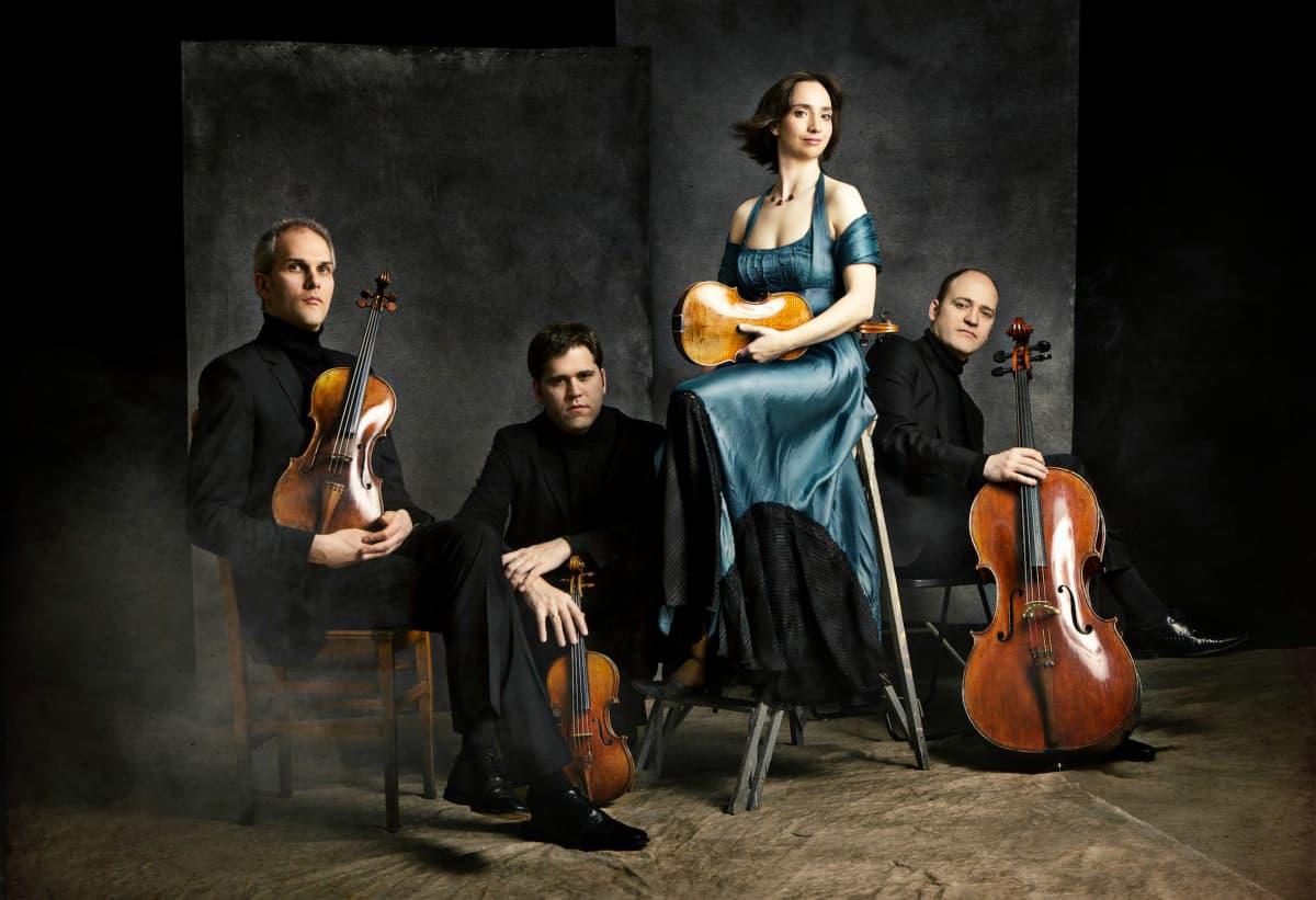 El Quartet Casals. Fotografia de Josep Molina.